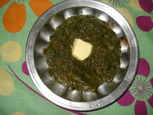 Mustard is used in traditional Indian cooking