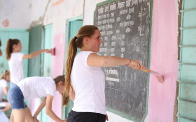 Volunteering at Ikaki Bagh